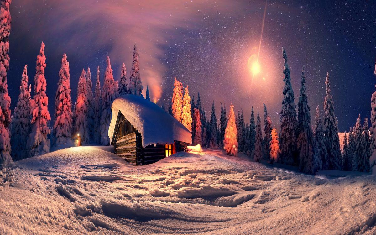 сказочный зимний вечер фото шенонсо часто называют