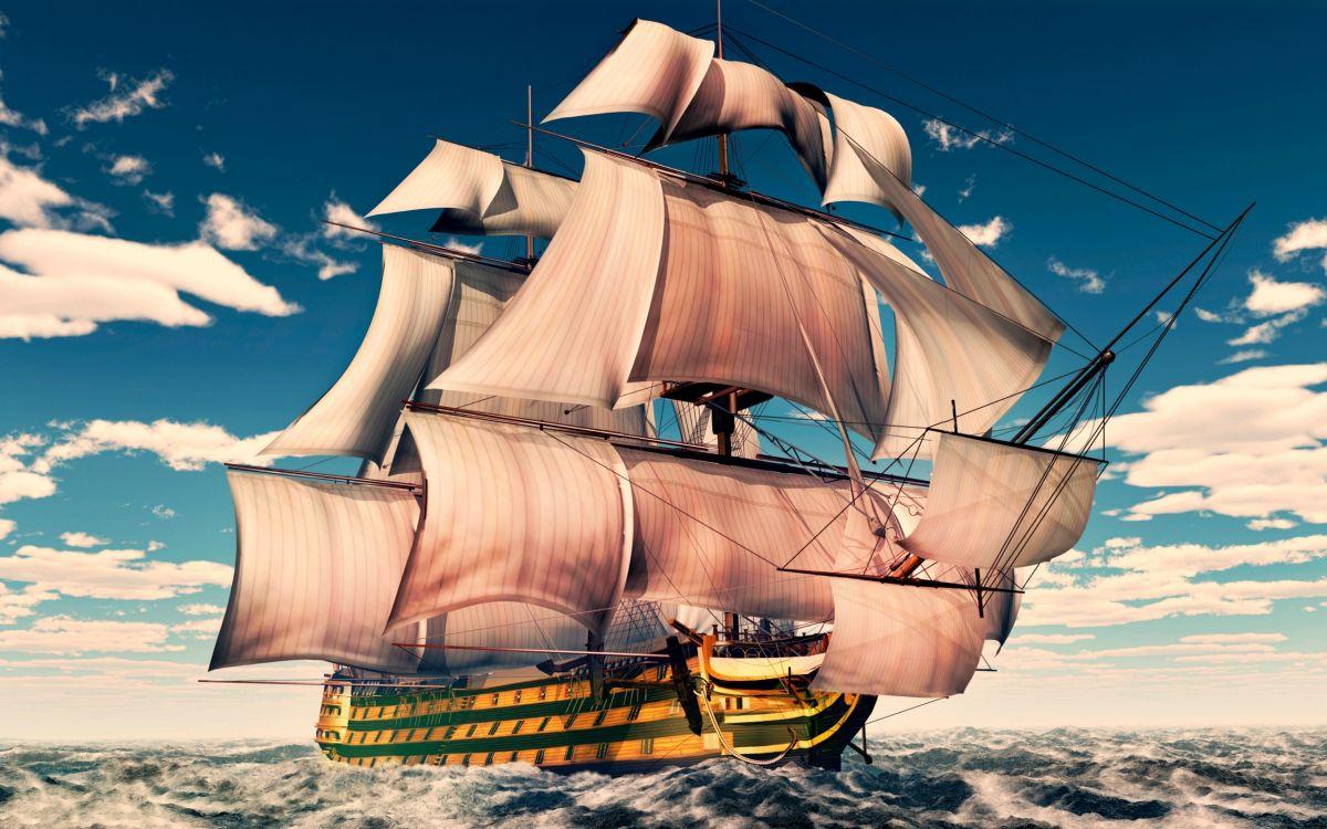 Картинки красивые кораблики