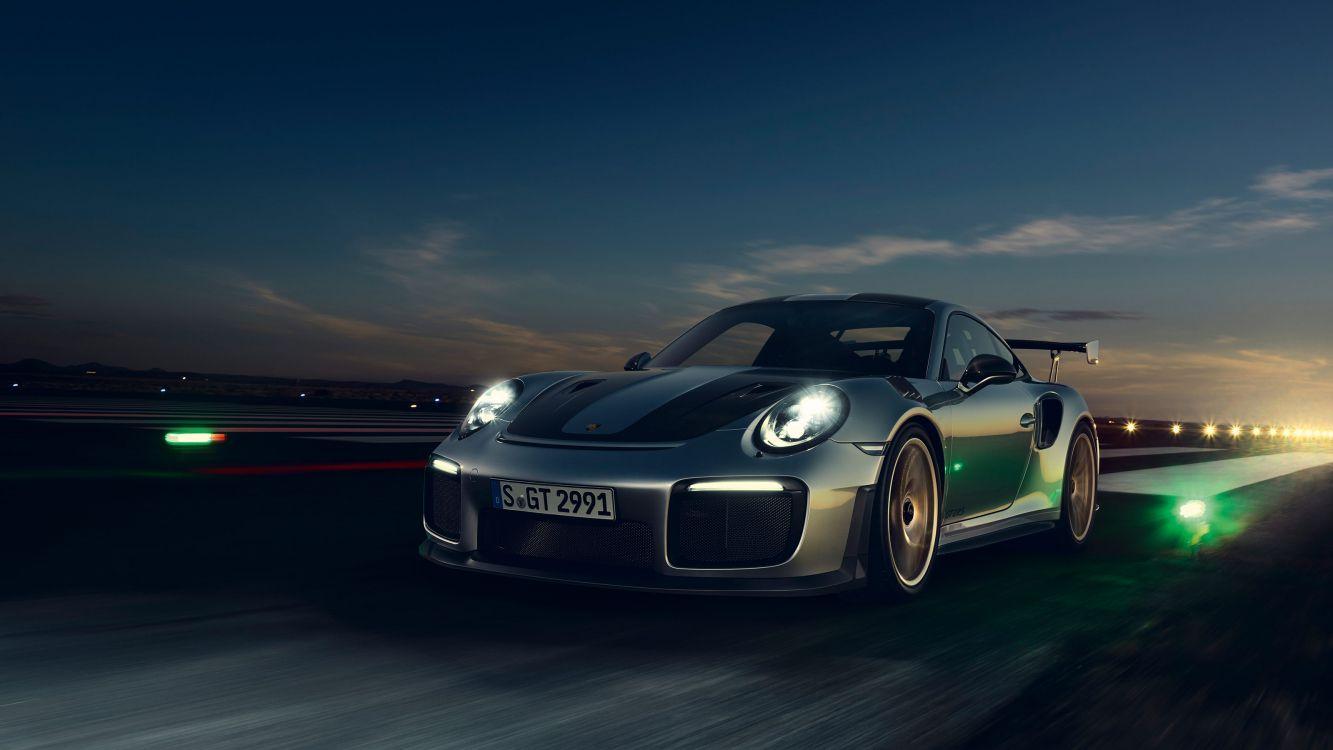 Обои суперкар, авто, porsche 911 gt2, мощные машины, спорткар в разрешении 3200x1800