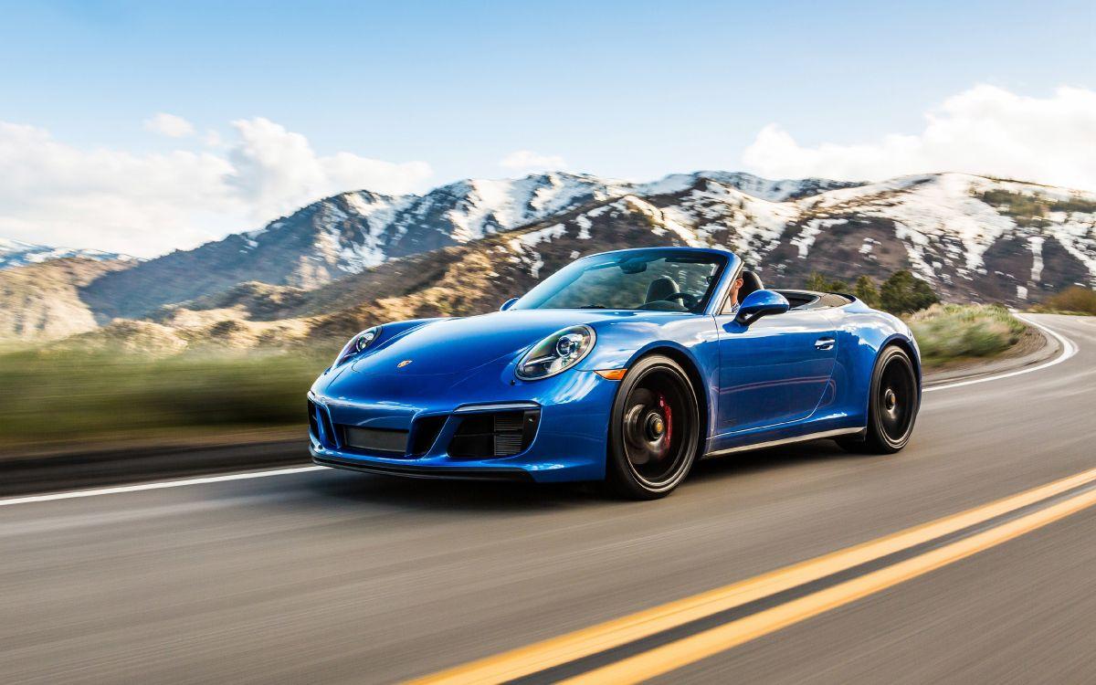 Обои спортивный автомобиль, авто, Кабриолет, Порше, суперкар в разрешении 3840x2400