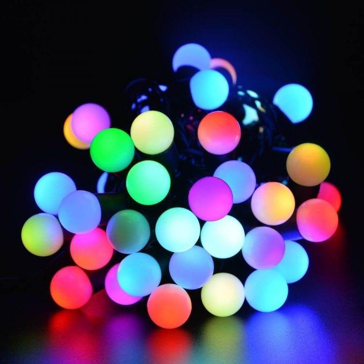 Картинка светящиеся шары